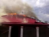 Casa unei familii din Murfatlar a luat foc chiar in timpul unei pomeni. Din ce cauza au izbucnit flacarile