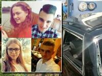 Patru frati si un verisor de-al lor au murit dupa ce un tren a intrat in masina lor. Soferita avea permis de o luna