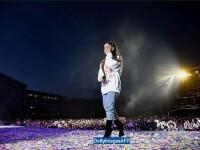 """Ariana Grande, in lacrimi in timpul concertului """"One Love Manchester\"""