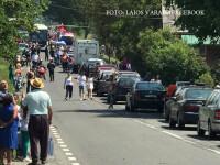 Motociclist grav ranit, pe o sosea din Mures. Barbatul a intrat intr-un autocar si a fost luat cu elicopterul SMURD