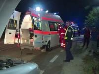 Accident grav in Gorj. Un barbat care s-a imbatat si a vrut sa mearga acasa pe bicicleta a sfarsit izbit de o masina