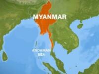 Un avion militar cu 120 oameni la bord a disparut de pe radare in Myanmar. Mai multe fragmente au fost gasite in mare