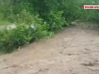 Prapad in zonele din Romania lovite de furtuni violente si grindina.