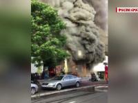 Momente de panica printre locatarii unui bloc din Targu Mures. Toti au fost evacuati dupa ce a izbucnit un incendiu