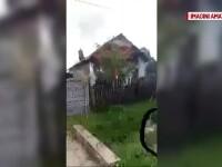 Doua persoane au facut atacuri de panica, dupa ce le-a luat casa foc. Posibila cauza: un calorifer electric uitat in priza
