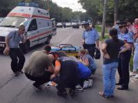 Un copil a fost lovit de o masina de politie pe trecerea de pietoni, in Bucuresti. Ce au povestit martorii
