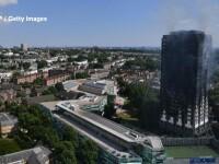 Incendiu violent la Londra. Turn cu 27 de etaje cuprins de flacari: 12 morti, 74 de raniti - 20 in stare critica