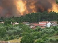 Incendiile de padure din Portugalia au facut cel putin 62 de morti. Trei zile de doliu national