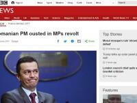 Presa internationala: Stanga aflata la putere in Romania a facut miercuri pasul extraordinar de a-si torpila propriul Guvern