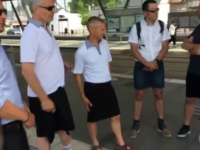 Solutia gasita de soferii de autobuz din Nantes dupa ce li s-a interzis sa vina la munca imbrac ati in pantaloni scurti