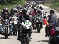 Sute de motociclisti din tara s-au intalnit la Alba Iulia. Parada care a