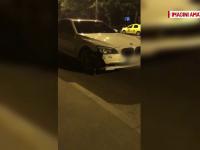 Barbat mort dupa ce o masina l-a lovit in plin chiar pe trecerea de pietoni in Bucuresti. Victima a fost aruncata 20 de metri