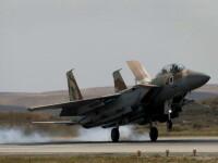 Israelul a bombardat tinte ale regimului sirian.