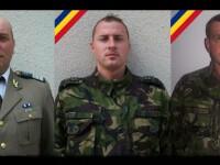 Soldatii morti in accidentul din Arges, inmormantati cu onoruri militare