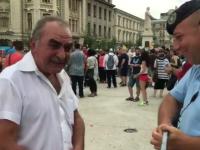 Un simpatizant PSD a ajuns din greșeală la Marșul Diversității. Reacția bărbatului. VIDEO