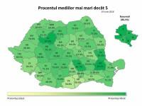 Rezultate Evaluare Națională 2018 Edu.ro. Procentul mediilor peste 5 și notele de 10, în scădere