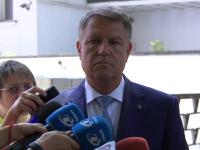 """Iohannis: """"PSD votează legi pentru șeful lor, e inadmisibil. Voi folosi prerogativele constituționale"""""""
