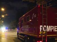 Incendiu la o casă din București. Pompierii au intervenit cu 6 autospeciale