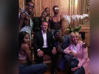 Poza pentru care Macron a fost criticat: