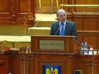 """Băsescu, despre o moțiune de cenzură împotriva Guvernului. """"Eşecul ar consolida PSD-ALDE"""""""
