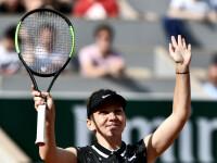 Simona Halep, în sferturi la Roland Garros. Românca a trecut de Iga Swiatek, scor 6-1, 6-0