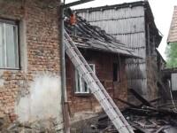 Explozie într-o casă din Brașov. Un bătrân a ajuns la spital în stare gravă