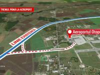 """Tren București-Aeroportul Otopeni, gata înainte de EURO 2020. """"Minunea"""" promisă de o firmă"""