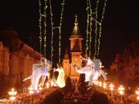 Festivalul de teatru de la Timișoara a debutat cu un spectacol de acrobații: