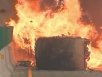 Doi morți și 3 răniți, după ce un șofer de TIR a pierdut controlul volanului, în SUA