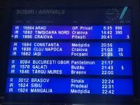 Tren cu întârziere de aprope 1.000 de minute, în Gara de Nord. Care este explicaţia