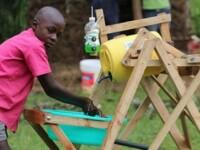 VIDEO. Cum arată și cum funcționează mașina de spălat pe mâini inventată de un copil de 9 ani