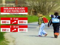 Legea privind dublarea alocațiilor ar putea fi atacată la CCR. Orban: