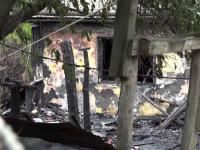 Un bătrân a murit și soția sa este în stare critică după ce le-a luat foc casa