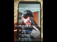 """Făcea live cu pistolul pe Facebook, în timp ce era filat de DIICOT pentru trafic de droguri. """"Trag după poliție!"""""""