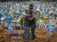 COVID-19 continuă să facă ravagii în Brazilia, care depășește Italia la numărul de decese