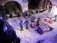 Spectacol de teatru în ruinele Curţii Domneşti din Târgoviște: