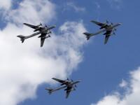 Unde au fost interceptate patru bombardiere ruse, capabile să transporte arme nucleare