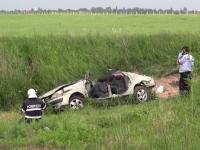 Accident grav în județul Neamț. Un bărbat a decedat, după ce mașina în care se afla a fost izbită de tren