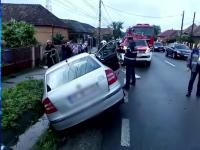 Accident în Cluj. O tânără de 20 de ani este în stare critică la spital