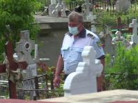 Un bărbat de 51 de ani din Dâmbovița a murit în cimitir