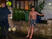 Un român din UK a intrat dezbrăcat într-o clădire în flăcări ca să își salveze vecinul