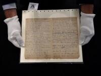 Suma uriașă cu care s-a vândut o scrisoare semnată de pictorii Van Gogh și Gauguin. GALERIE FOTO