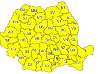 ANM: Cod galben de ceaţă în 11 judeţe din România, valabil până la ora 23:00