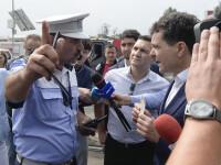 Polițistul care a intervenit în timpul conferinței lui Nicușor Dan ar fi fost inculpat pentru luare de mită