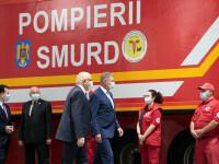 Unitățile mobile de terapie intensivă, inaugurate azi de preşedintele Iohannis
