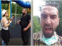 Cristina Bălan, câștigătoarea Vocea României, bruscată de poliţişti după ce copiii ei s-au urcat într-un tobogan