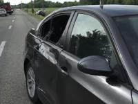 Biciclist lovit de un șofer cu BMW. Cum s-a produs accidentul