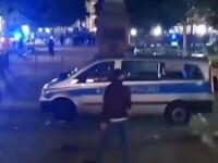 Violențe în Germania. Zeci de magazine vandalizate şi maşini ale poliţiei atacate. VIDEO