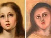 """Cum a fost """"restaurată"""" o pictură celebră în Spania. Experții cer legi stricte"""