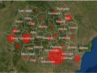 Număr record de infectări în România. Este cel mai mare bilanț din ultimele luni
